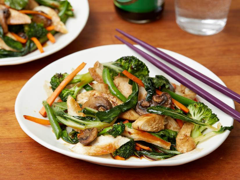 Chicken Stir Fry Recipe Tyler Florence Food Network