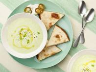 10-Minute Green Gazpacho and Smoky Quesadilla