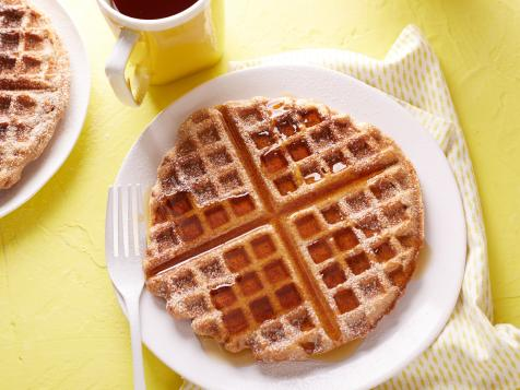 Whole-Wheat Vegan Waffles