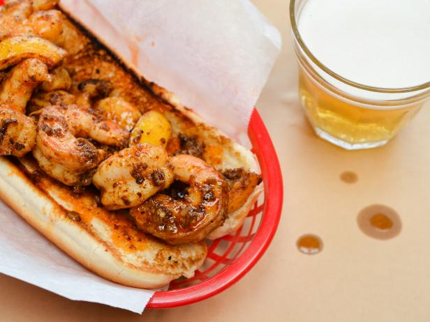 NOLA BBQ Shrimp Po-Boy
