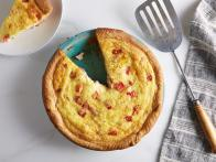 Ham, Tomato and Swiss Quiche