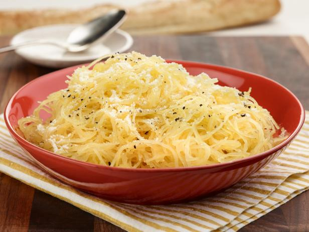 Spaghetti Squash with Parmesan Cheese