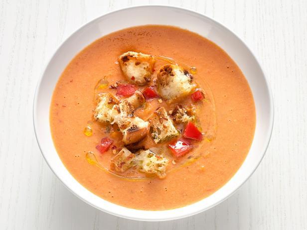 Tuscan Tomato White Bean Soup Recipe Food Network