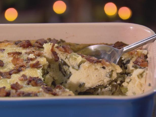 Grits And Greens Casserole Recipe Trisha Yearwood Food