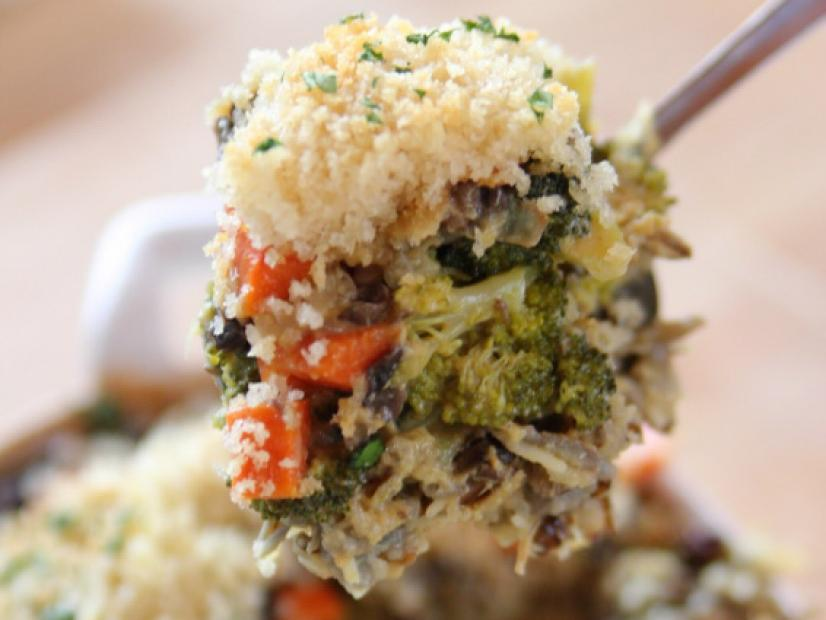 Broccoli Wild Rice Casserole Food Network Recipe Ree Drummond