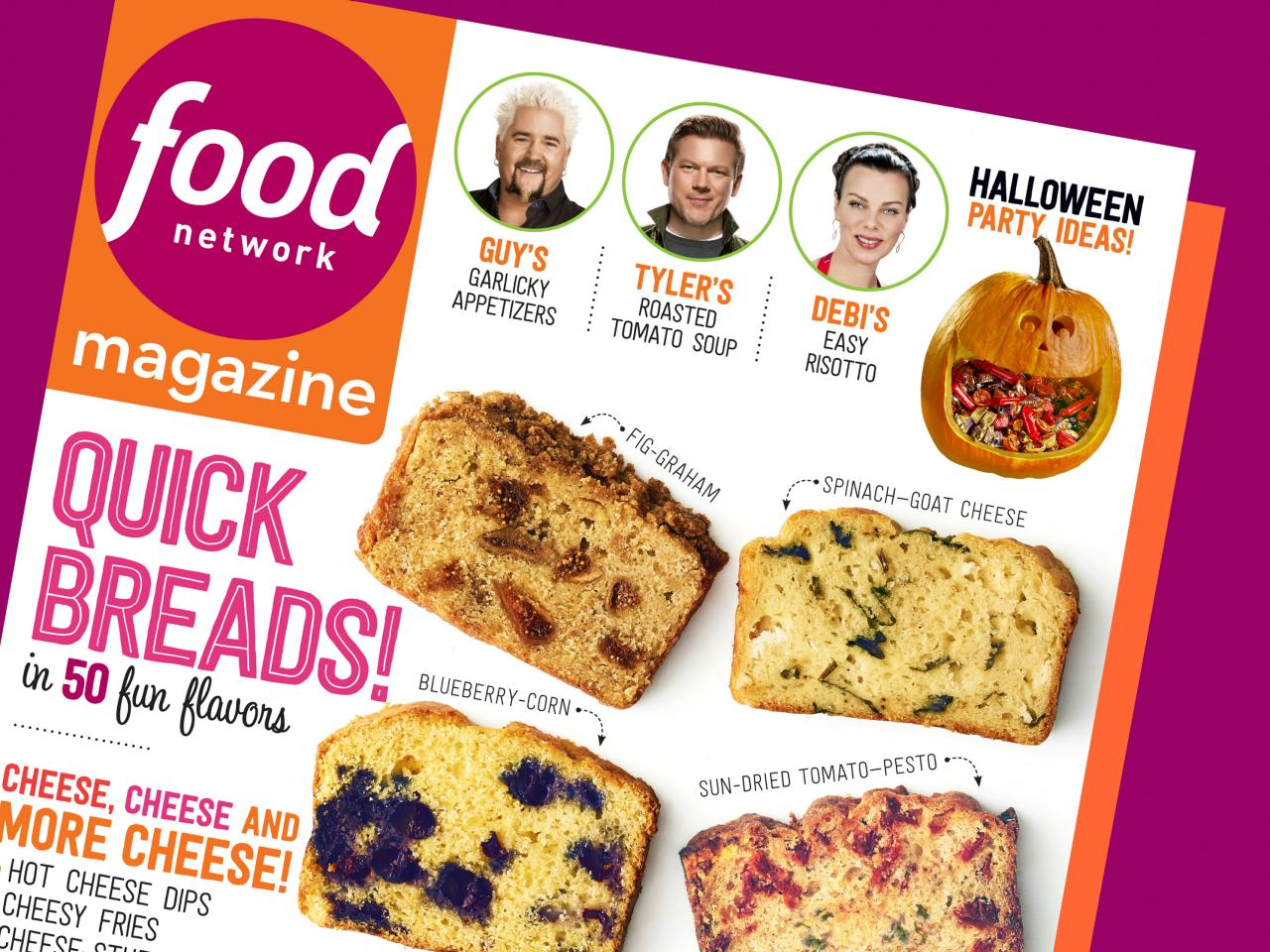 Food network magazine october 2014 recipe index food for October recipes