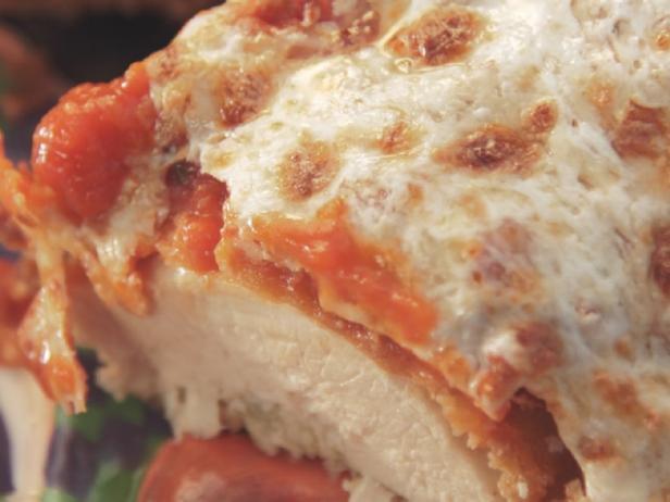 Garlicky Chicken Parmesan Recipe Nancy Fuller Food Network