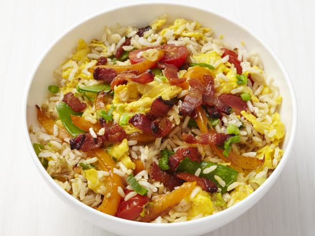Fried rice with bacon recipe food network kitchen food network fried rice with bacon forumfinder Images