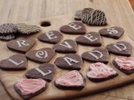 Chocolate Message Cookies