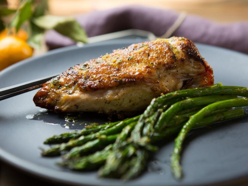Roasted Chicken With Orange Glaze Recipe Food Network