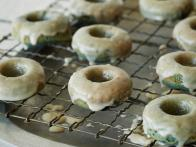 Blueberry Cake Doughnuts