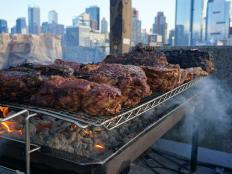 Rising smoke obscured the skyline as all-star chefs cooked mass quantities of meat over open fires.