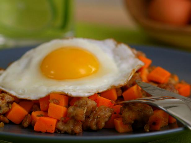 Sweet and Spicy Pork Hash
