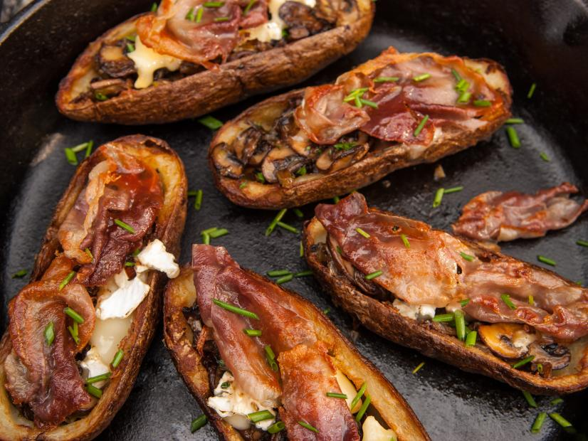 Elevated Potato Skins Recipe Guy Fieri Food Network