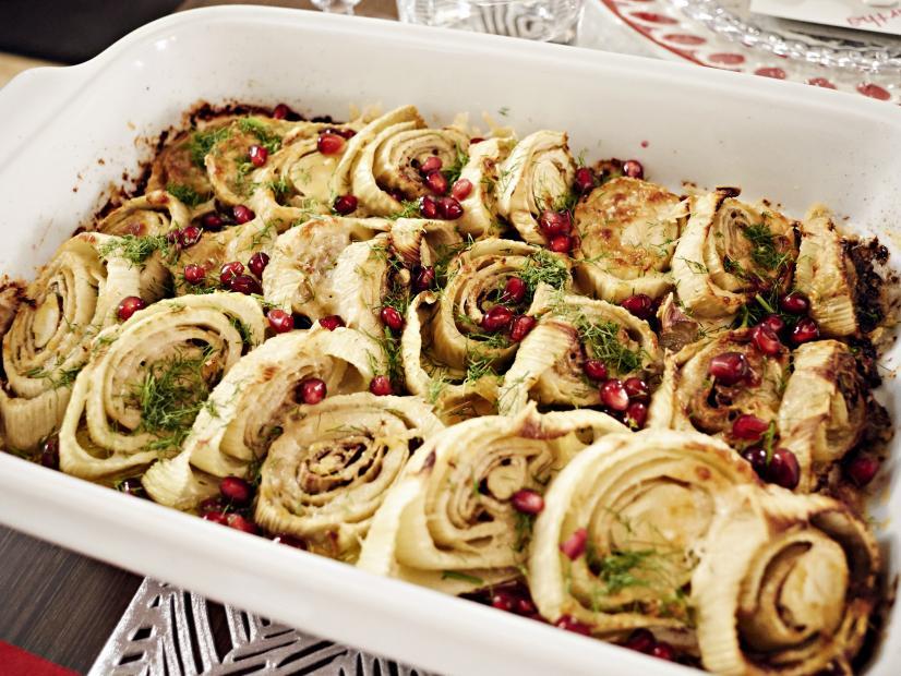 Roasted Fennel With Parmesan Recipe Giada De Laurentiis Food Network