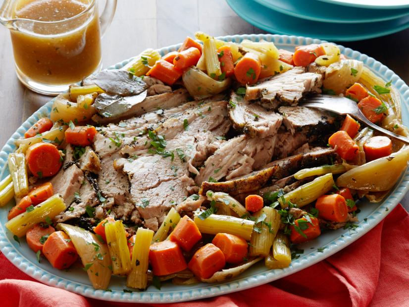 Slow Cooker Pork Roast Recipe Food Network Kitchen Food Network