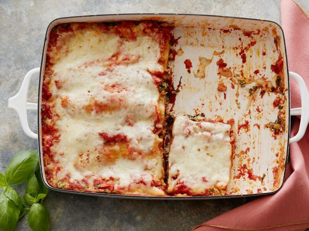 Vegetarian lasagna recipe food network kitchen food network vegetarian lasagna forumfinder Image collections