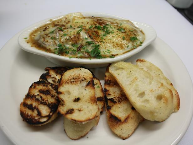 French Onion Soup Fondue