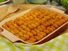 Try Sunny's comforting, crowd-pleasing Tater Tot Pie Casserole recipe from Food Network.