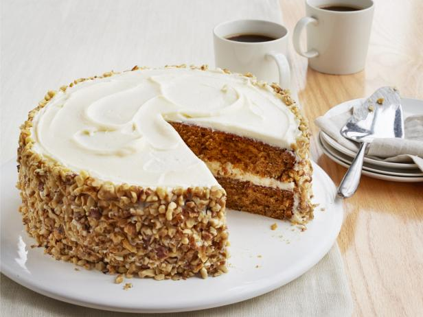 Carrot Cake with Ginger Cream Cheese Frosting
