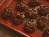 Chocolate Toffee No-Bake Cookies