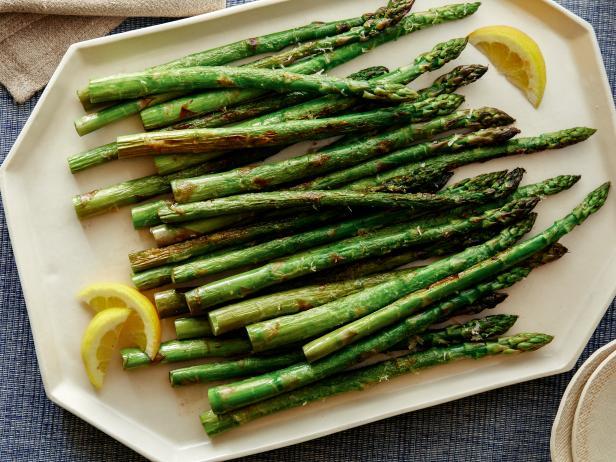 Parmesan Roasted Asparagus Recipe Ina Garten Food Network