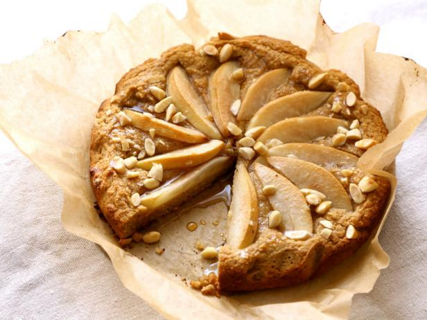 Gluten-Free Pear and Almond Cake