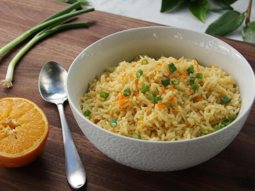Orange flavored rice recipe tia mowry food network forumfinder Images