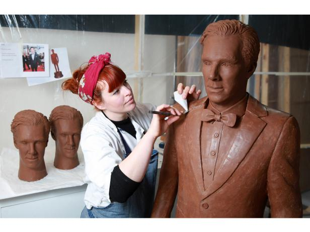 This Chocolate Benedict Cumberbatch Puts Your Easter Candy to Shame