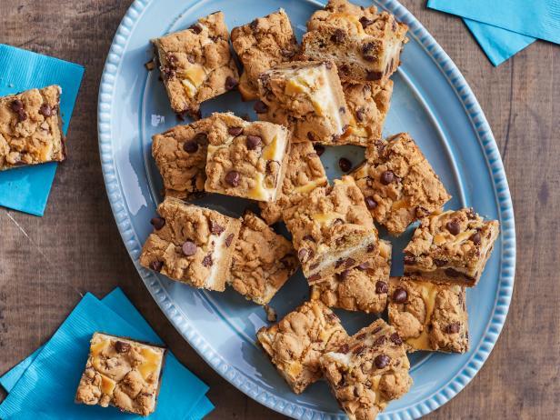 Chocolate Chip Cheesecake Bars Recipe Trisha Yearwood Food Network