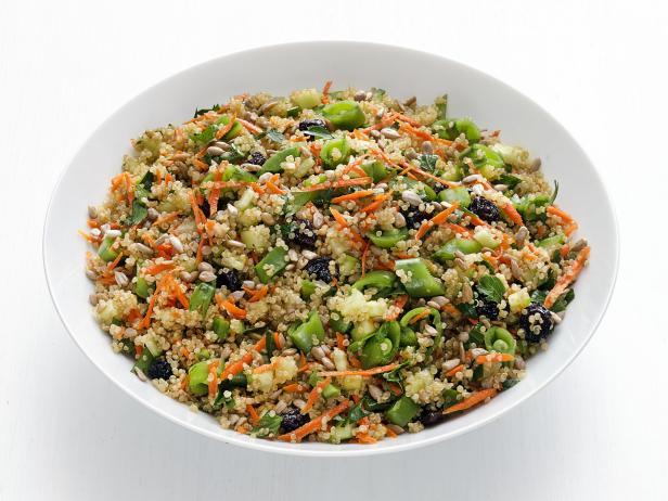 Quinoa recipes food network food network vegetable quinoa salad forumfinder Images