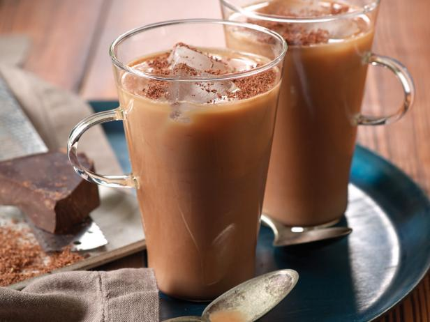 Iced Coffee with Chile de Arbol and Dark Chocolate