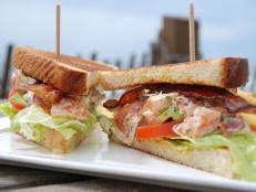 "This cafe offers ""California fare with a twist,"" as Curtis Stone describes it. He tried the Maine Lobster Club Sandwich composed of tender lobster, crisp lettuce and smoky bacon. One bite and Curtis was blown away by ""the saltiness of the bacon (and) the beautiful, delicate flavor of the lobster."""