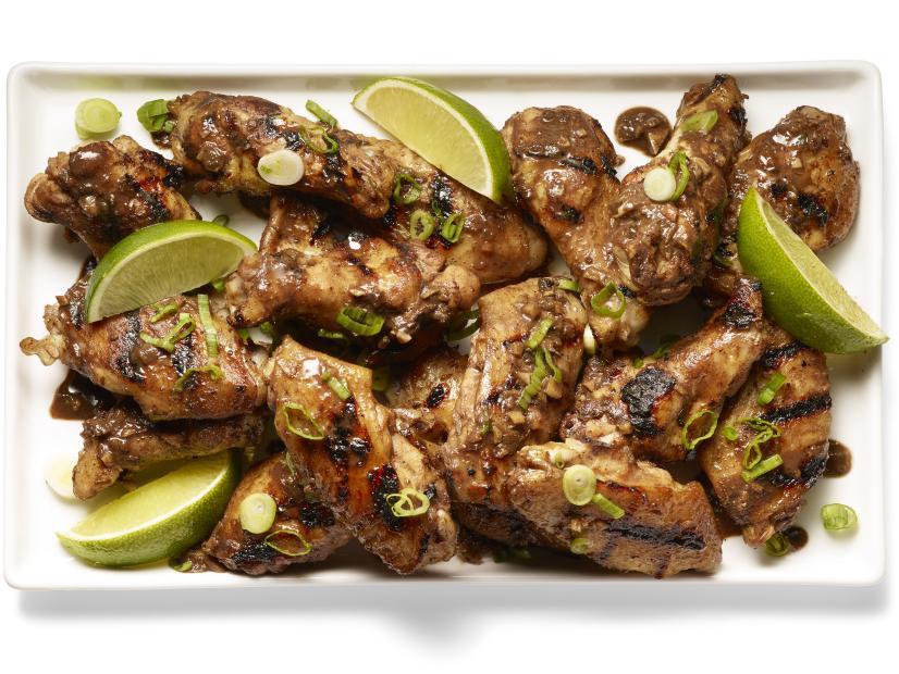 Spicy Rum Chicken Wings Recipe Eddie Jackson Food Network