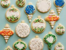 Stick to the classics with Food Network Kitchen's traditional sugar cookies with crispy edges and a soft, buttery center.