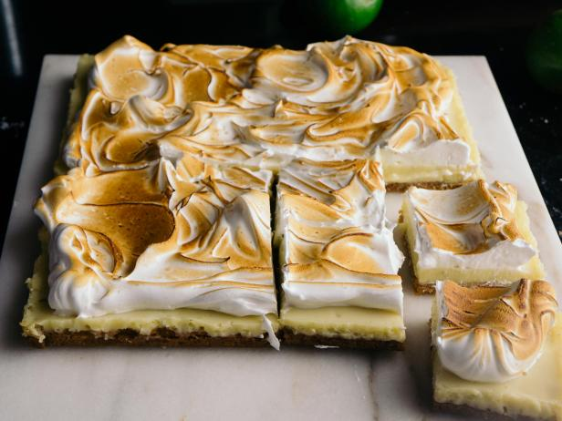 Lime Meringue Bars