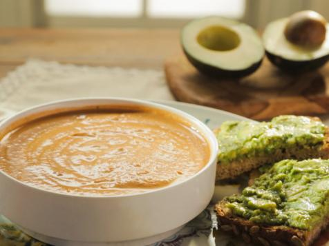 Tomato Bisque with Cashew Cream