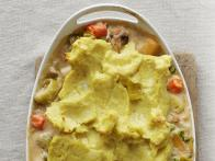 Curried Vegetarian Shepherd's Pie