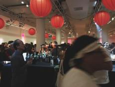 Closing out the New York City Wine & Food Festival weekend was Andrew Zimmern's Lucky Chopsticks, reminiscent of the bustling night markets of Asia.