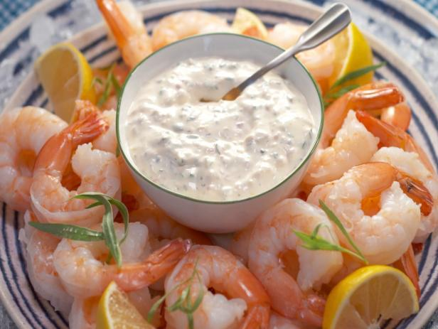 Shrimp Cocktail with Remoulade Sauce
