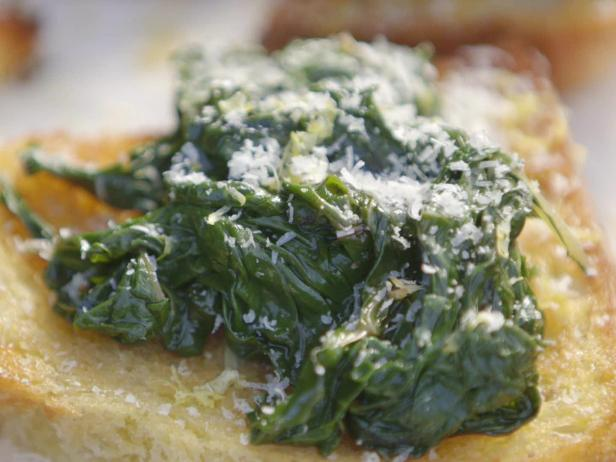 Bruschettas with Sauteed Chard