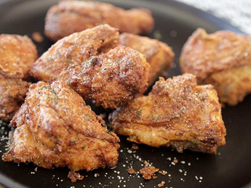 Fried Chicken With Dill Salt Recipe Guy Fieri Food Network