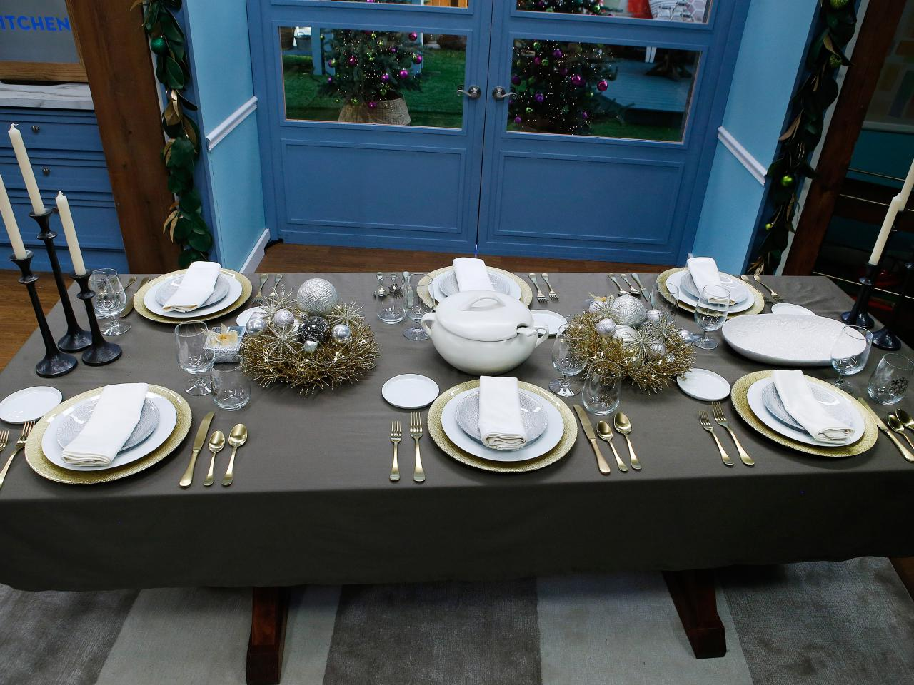 Set a Table that Sparkles & Set a Table that Sparkles | The Kitchen: Food Network | Food Network