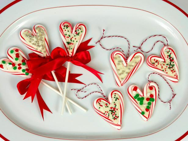Candy Cane Heart Pops Recipe Food Network Kitchen Food Network