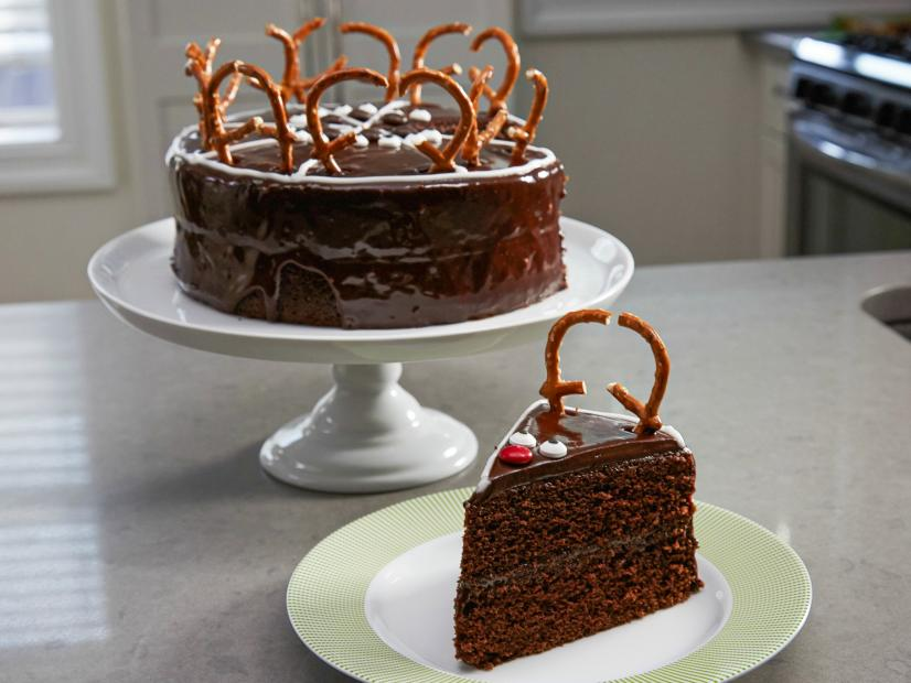 Chocolate Reindeer Cake Recipe Food Network Kitchen