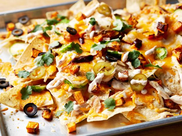Leftover Thanksgiving Nachos