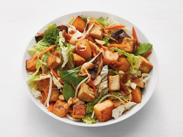 Asian Tofu and Squash Salad