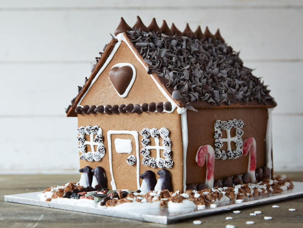 How To Make A Chocolate Gingerbread House Food Network