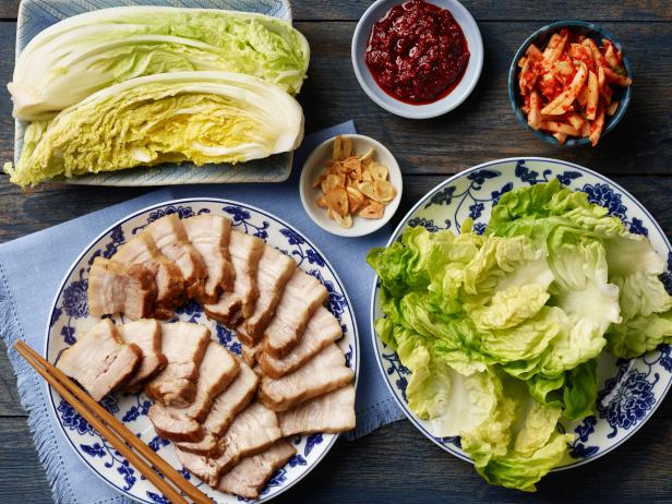 Bossam (Korean-Style Boiled Pork Belly)