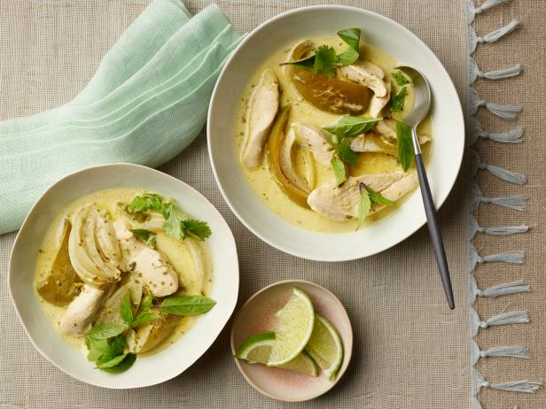 Green Curry Chicken Recipe Tyler Florence Food Network